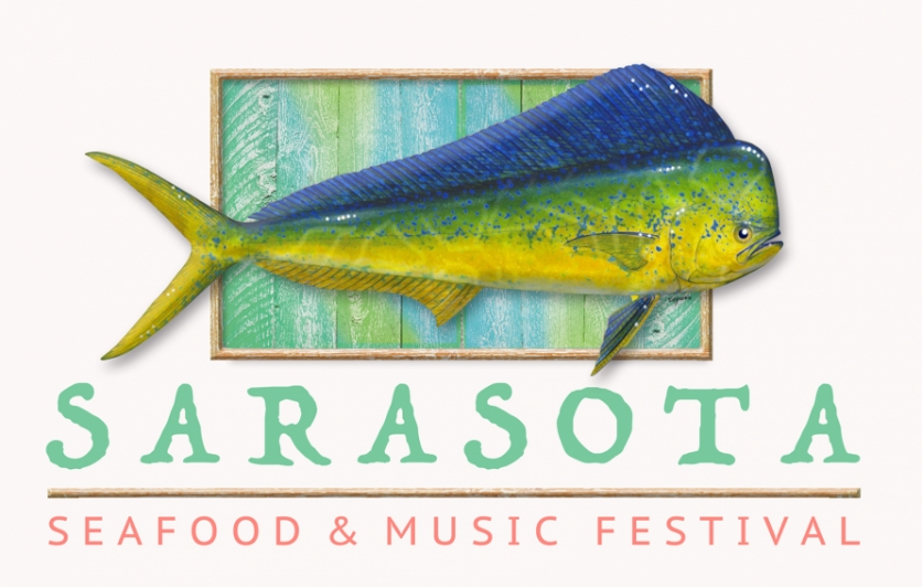 logo for 2nd Annual Sarasota Seafood & Music Festival