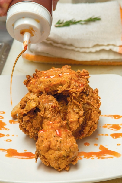 Made's fried chicken