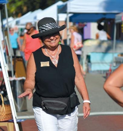 Venice Farmers Market Manager Linda Wilson