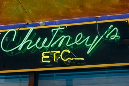 Chutney's Etc. sign