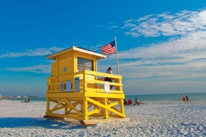 yellow lifeguard