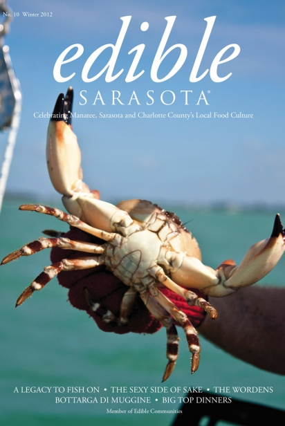 Edible Sarasota winter 2012 issue