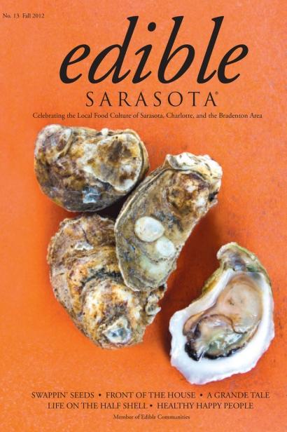 Edible Sarasota fall 2012 issue