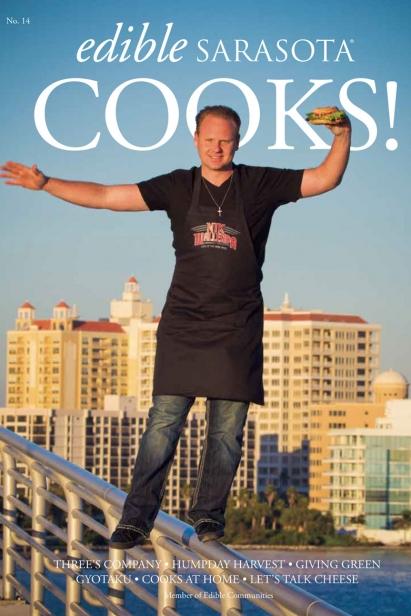 Edible Sarasota Cooks 2012 issue