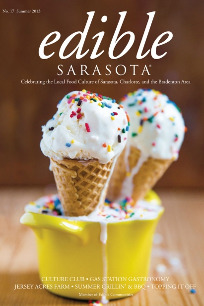Edible Sarasota summer 2013 issue