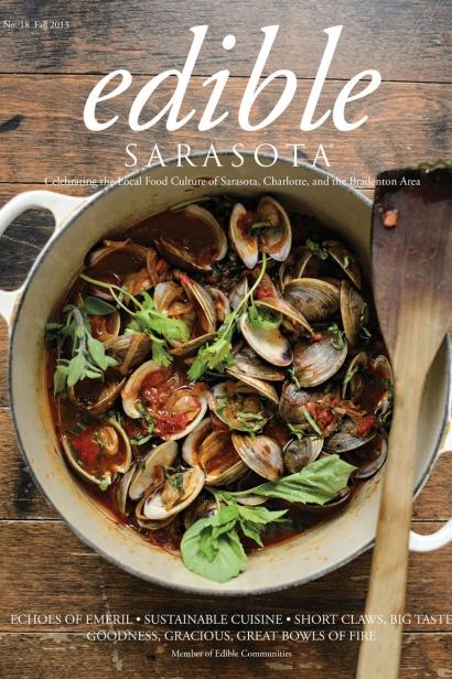 Edible Sarasota fall 2013 issue