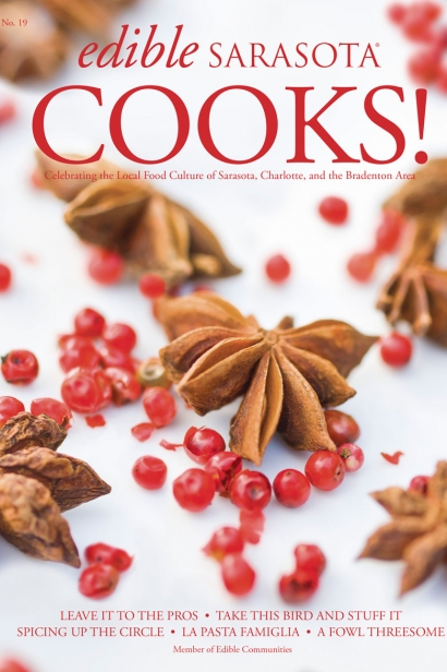 Edible Sarasota Cooks 2013 issue
