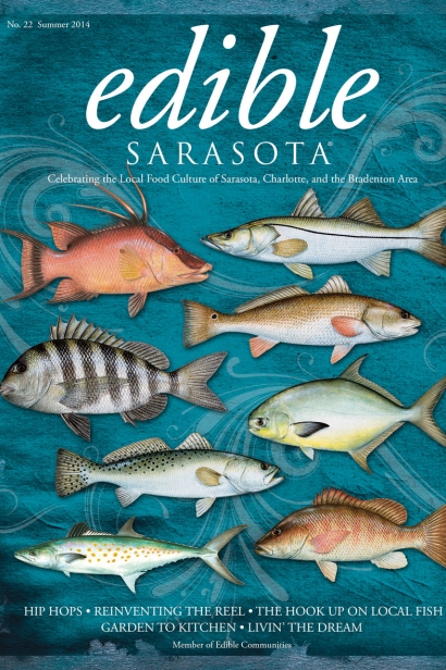 Edible Sarasota summer 2014 issue