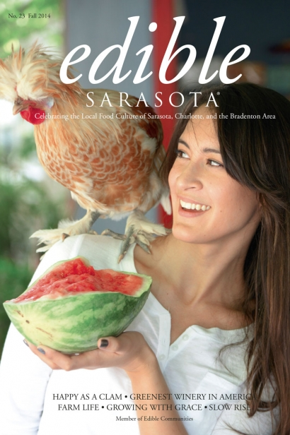 Edible Sarasota fall 2014 issue