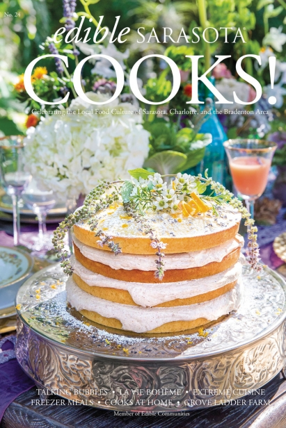 Edible Sarasota Cooks issue