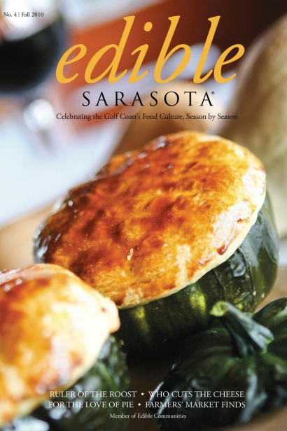 Edible Sarasota fall 2010  issue