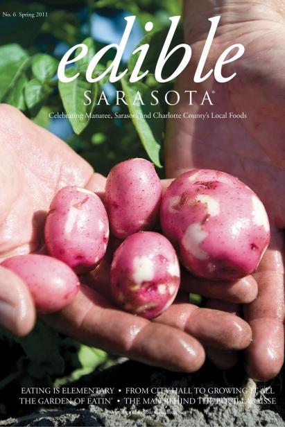 Edible Sarasota spring 2011 issue