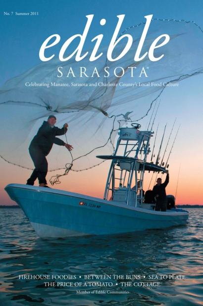 Edible Sarasota summer 2011 issue