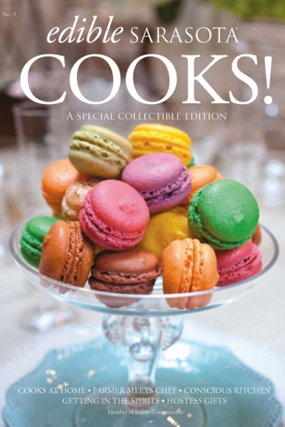 Edible Sarasota Cooks 2011 issue