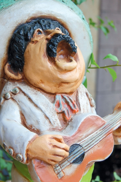 Mexican statue