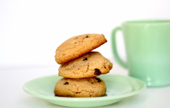 Browned Butter, Toffee and Chocolate Chip Cookies