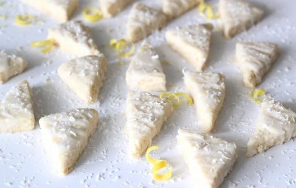 Lemon-Coconut Cookies