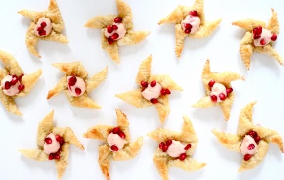 Pomegranate Pinwheels