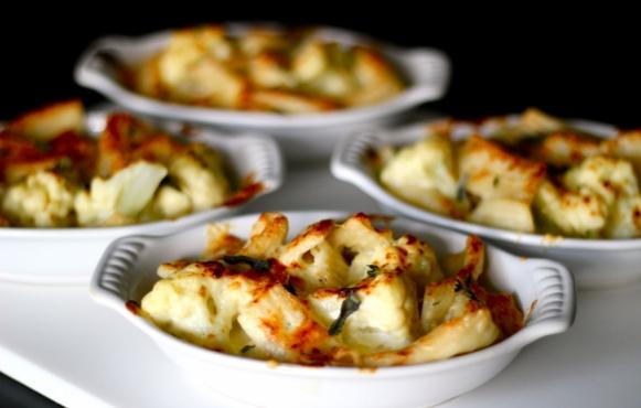 Cauliflower and Rigatoni Gratin