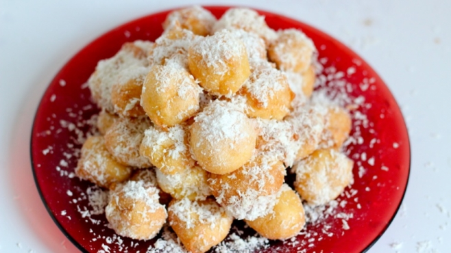 Fried Snow Balls