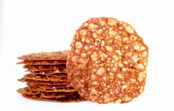 Maple-Pecan Lace Cookies