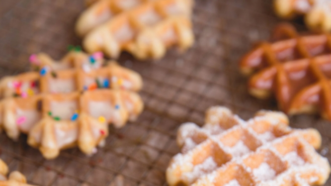 Waffle Doughnuts