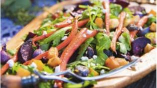 roasted root vegetable salad