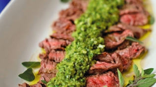 Grilled Skirt Steak with Chimichuri