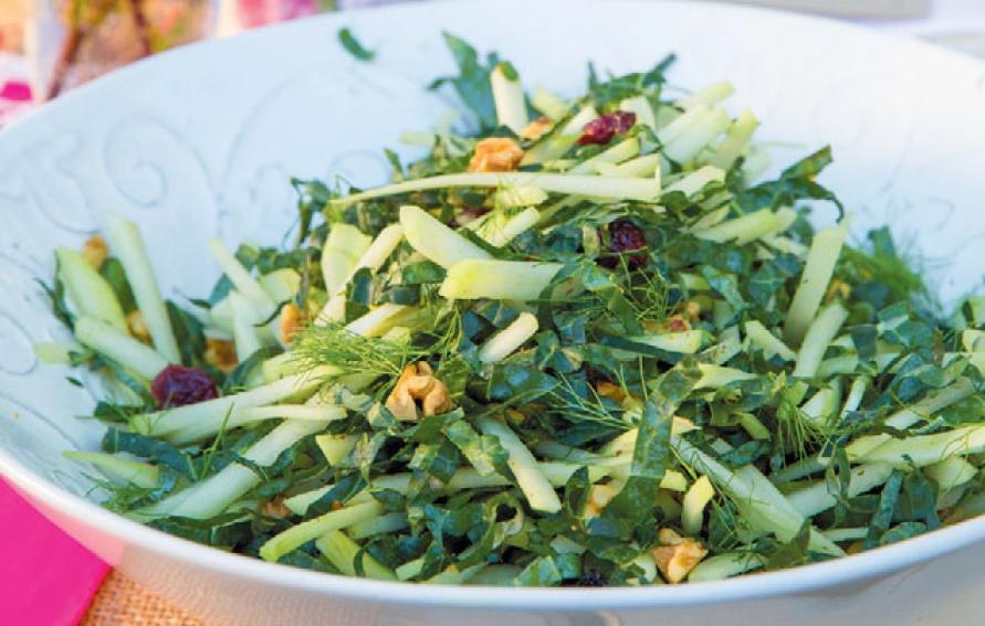 Kale Fennel Kohlrabi Slaw Edible Sarasota